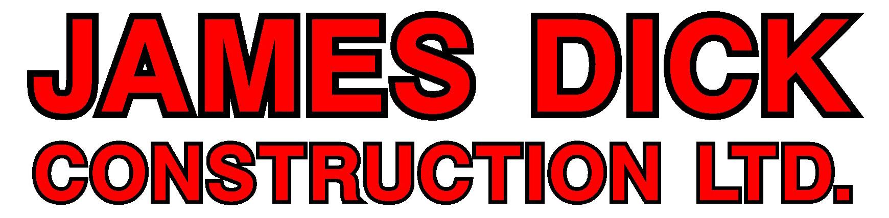 GOLD SPONSOR - James Dick Construction - Logo