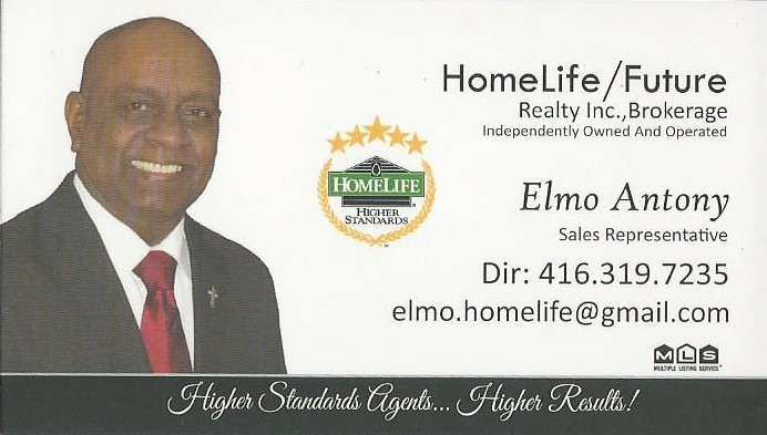 Bronze - Program Advertising - Elmo Antony / HomeLife/Future Realty Inc., Brokerage  - Logo