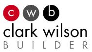 Team Sponsor - CLARK WILSON BUILDER - Logo