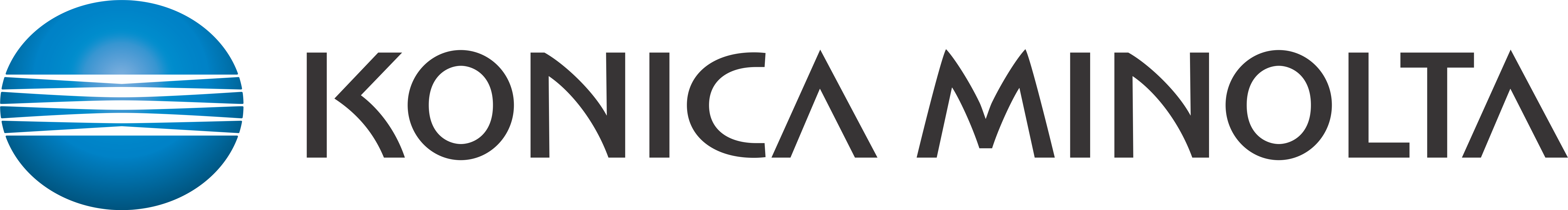 Top Drive Sponsors - $1,000 - Konica Minolta - Logo