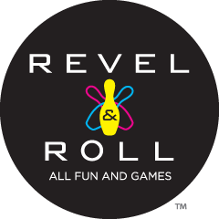 REVEL AND ROLL Restaurant, Bowling and Video Games
