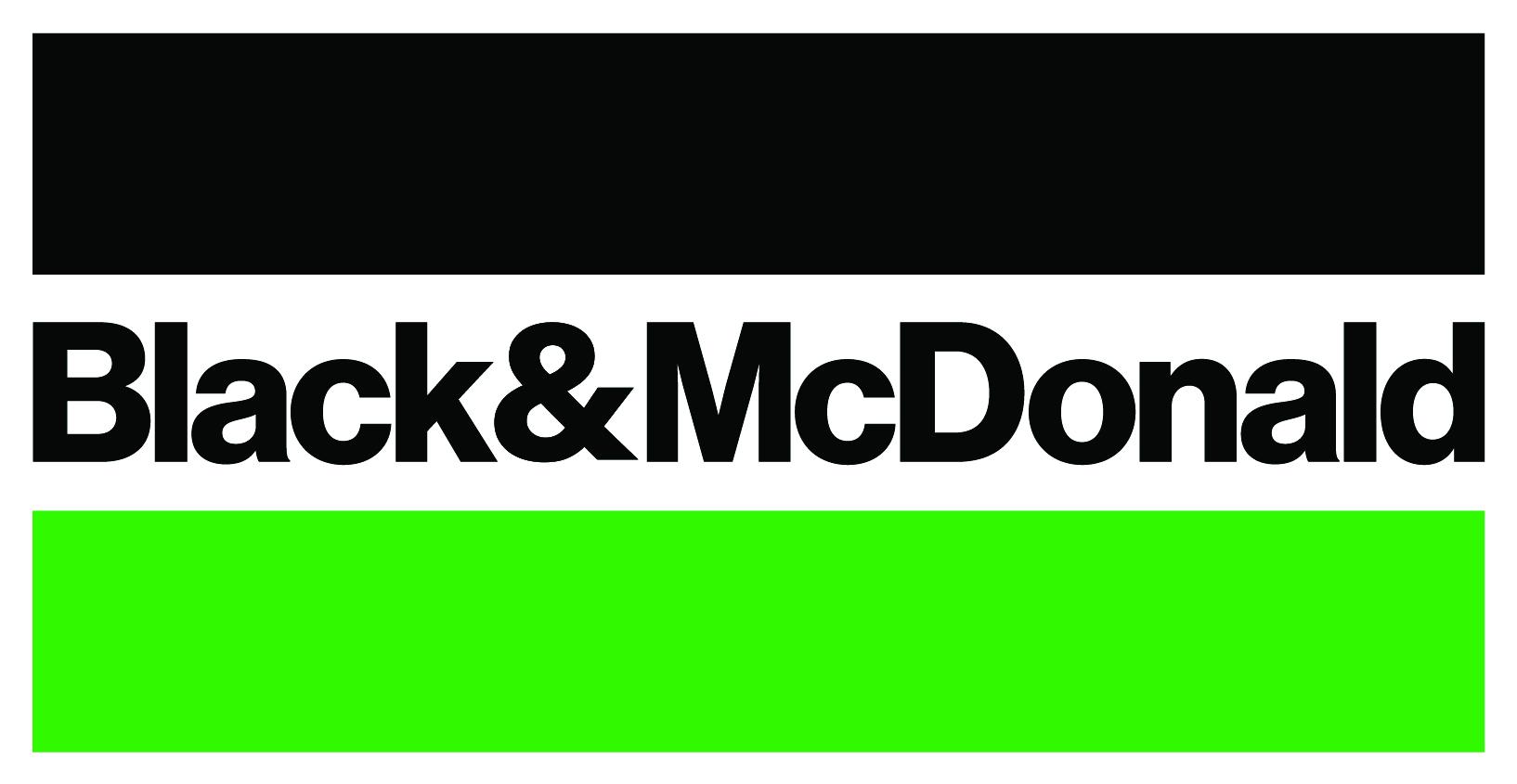 Gold Sponsor - Black & McDonald - Logo