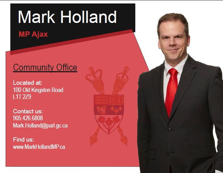 Bronze - Program Advertising - Mark Holland, MP - Logo