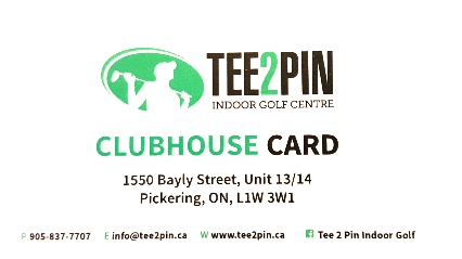 Putting Contest - Tee 2 Pin - Logo