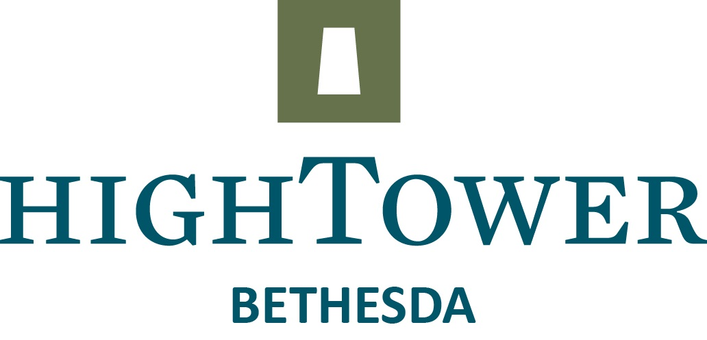 Diamond Sponsor ,Organizational Name displayed at 1 Golf Hole, Full Page Ad in Event Booklet - High Tower Bethesda - Logo