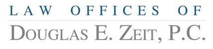 Lunch Sponsor - Law Offices of Douglas E. Zeit, PC - Logo