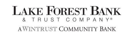 Golf Cart Sponsor - Lake Forest Bank & Trust - Logo