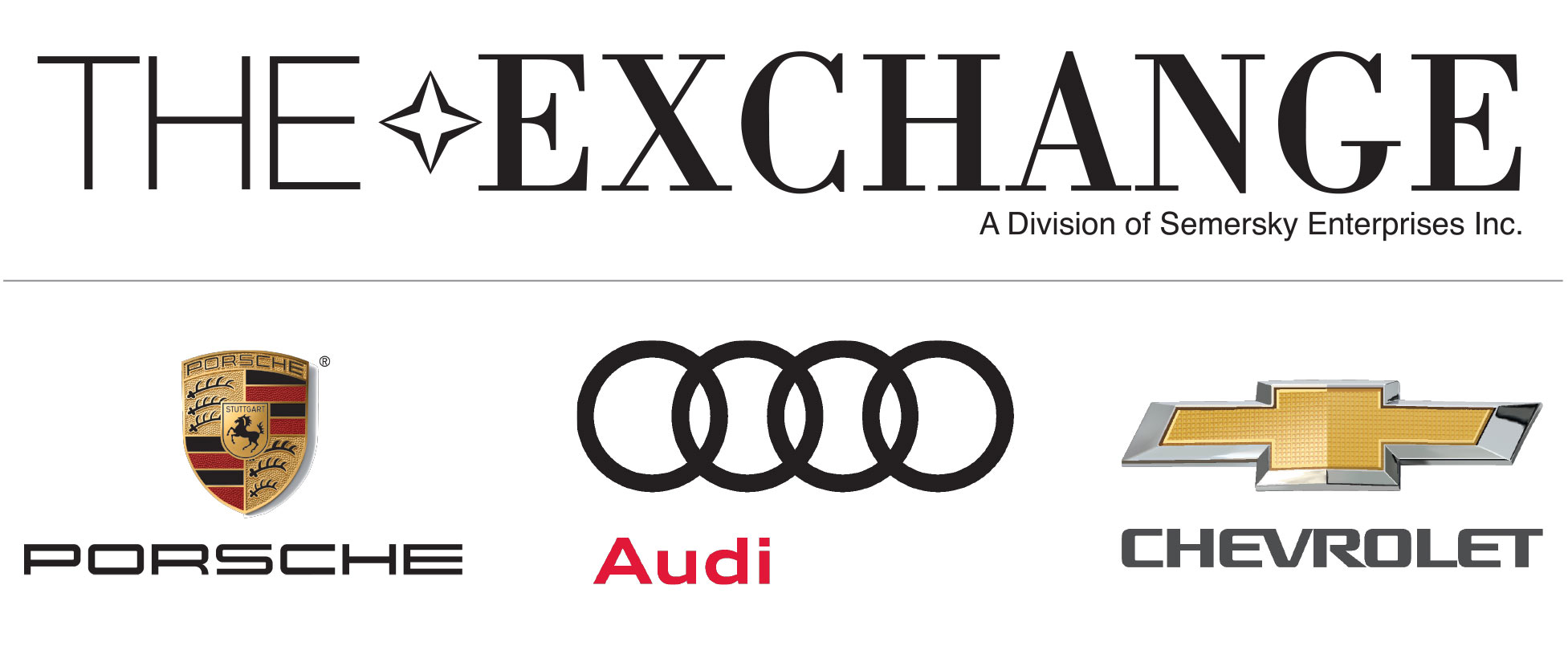 Hole In One Sponsor - The Audi Exchange - Logo