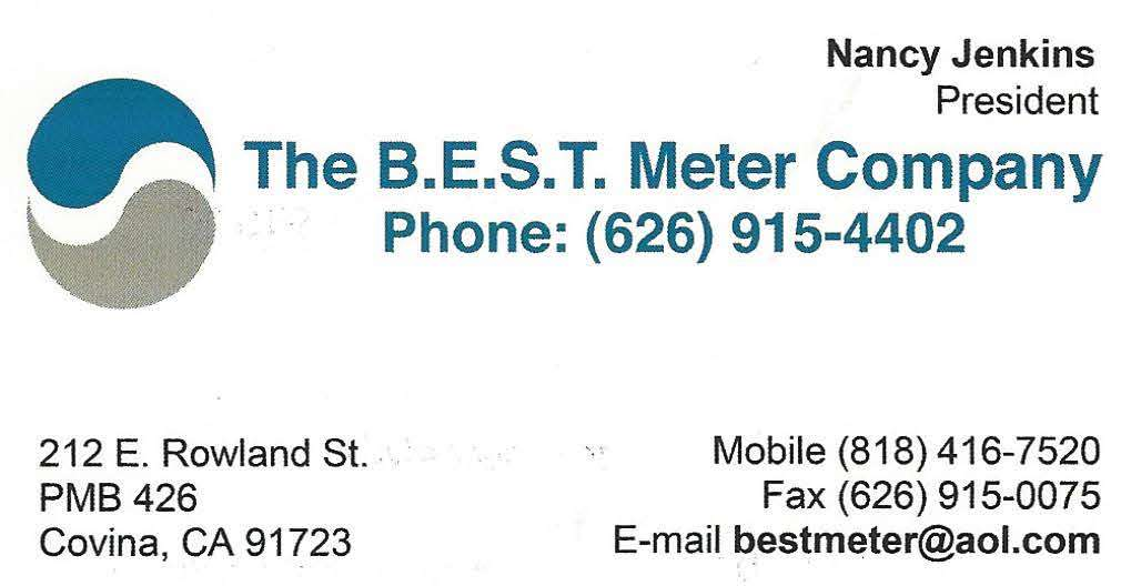 The BEST Meter Company