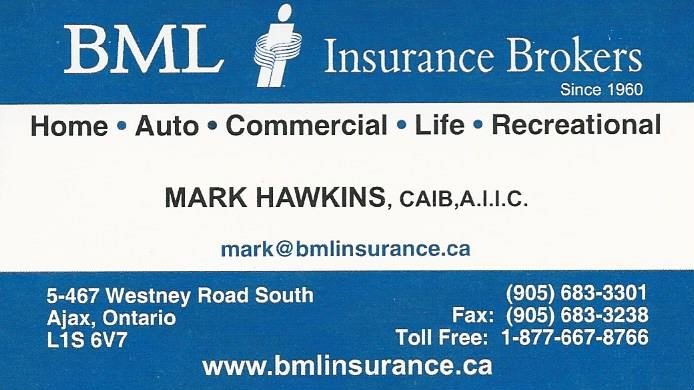 Bronze - Program Advertising - BML Insurance Brokers - Logo
