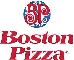 PLATINUM SPONSOR - BOSTON PIZZA - Logo