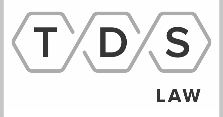 Water Bottle Sponsor - TDS Law - Logo