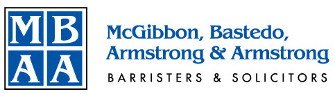 Bronze - Program Advertising - McGibbon, Bastedo, Armstrong Barristers & Solicitors - Logo