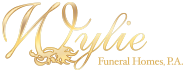 Gold Sponsor , Organizational name displayed at 1 Golf Hole, Business Card Ad in Event Booklet - Wylie Funeral Home - Logo