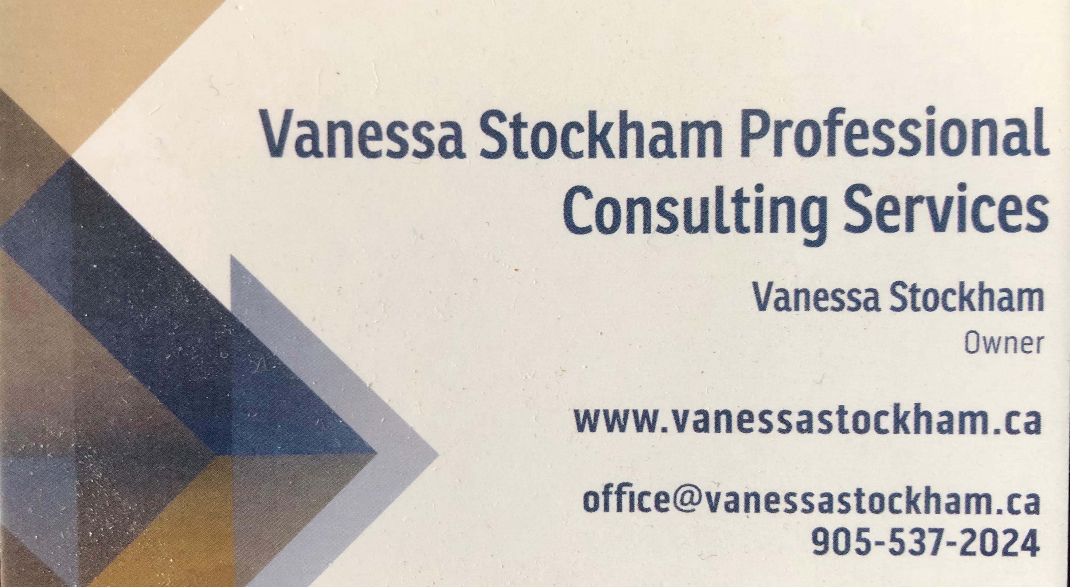 Vanessa Stockahm Professional Consulting Services