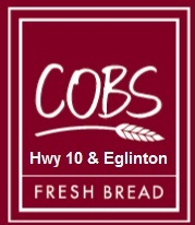 Prize Sponsor - Cobs Bread Hurontario and Eglinton - Logo