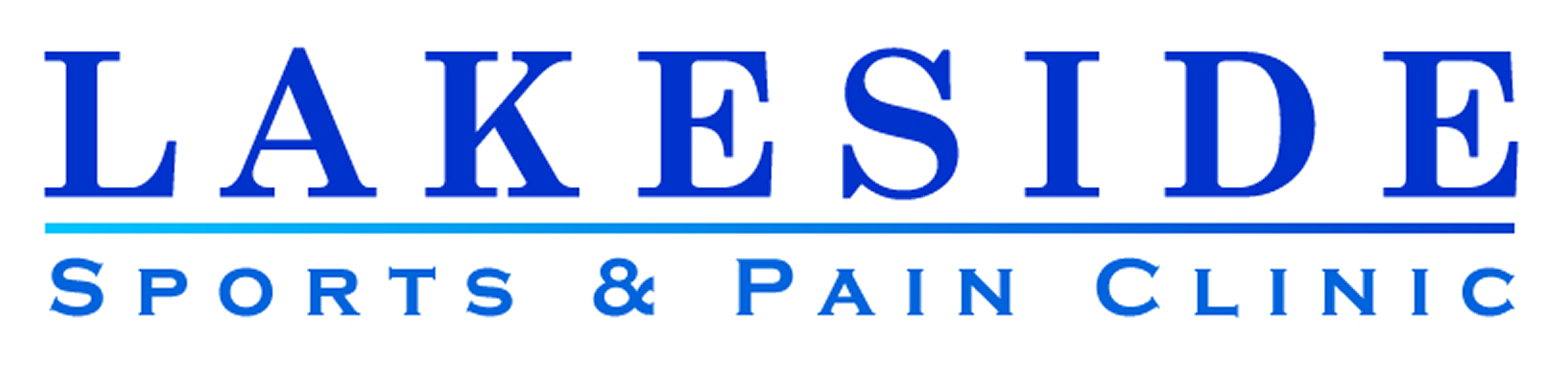 Hole Sponsor - Lakeside Sports and Pain Clinic  - Logo