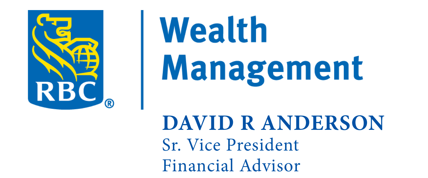 Gold Sponsor - RBC Wealth Management - David Anderson - Logo