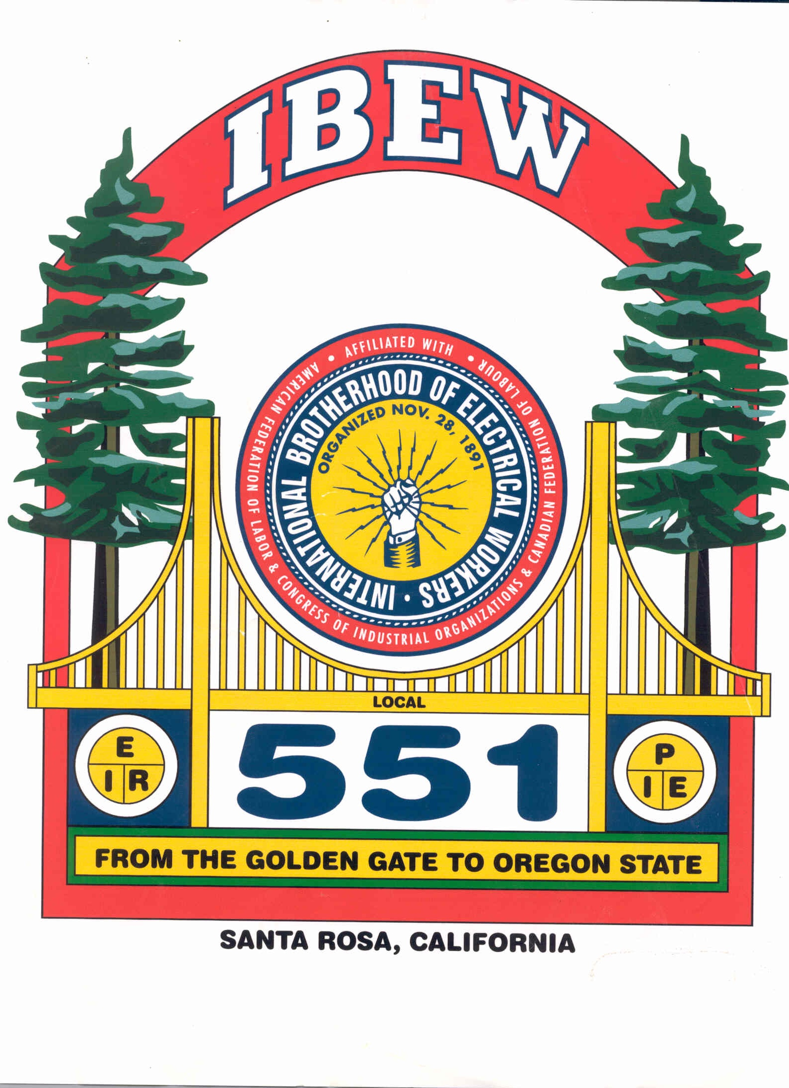 Flag Pin Sponsors - Redwood Empire Labor Management Corp - Logo