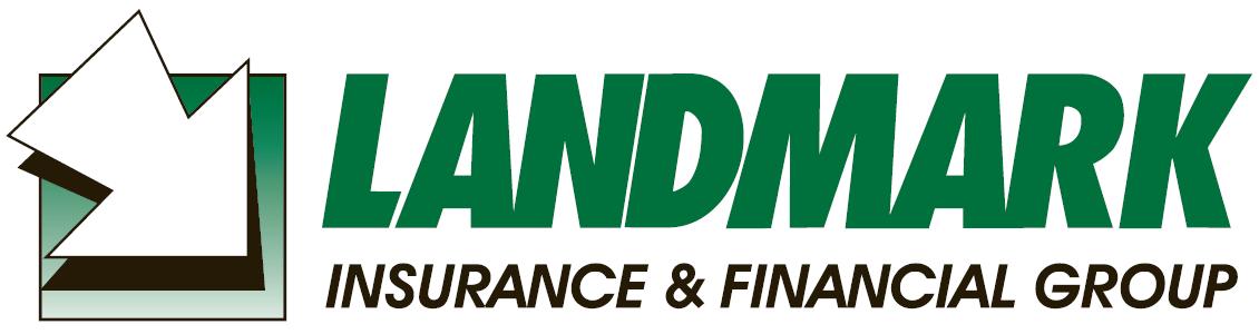 Golf Ball Sponsor - Landmark Insurance - Logo