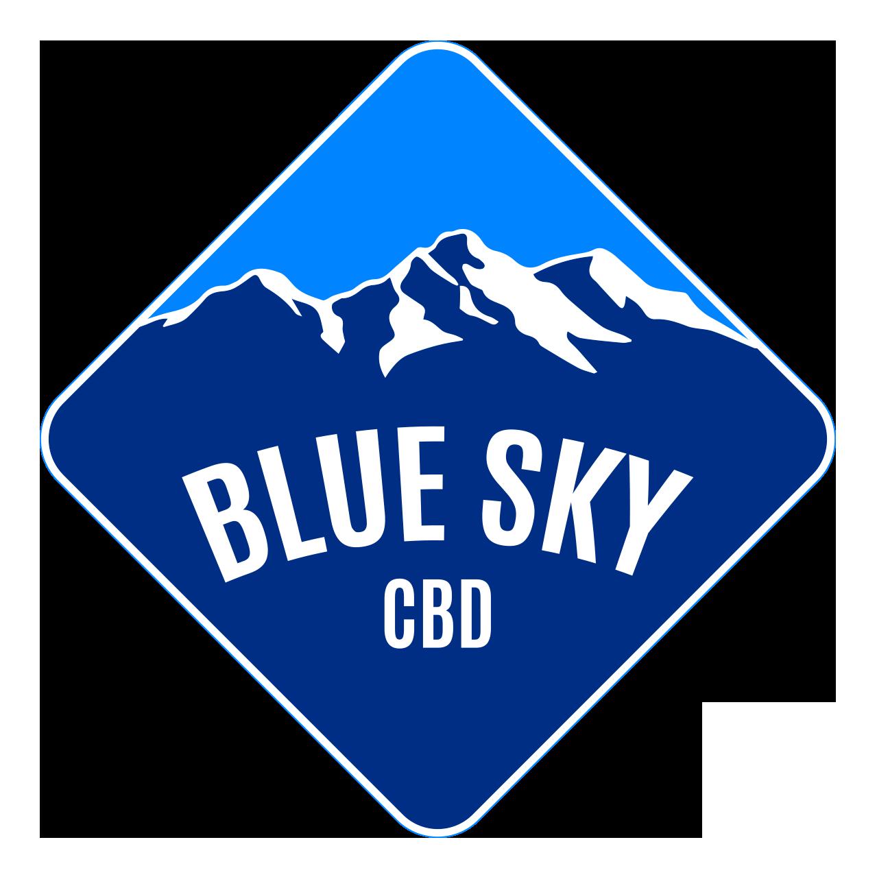 Hole Sponsor - Blue Sky CBD - Logo