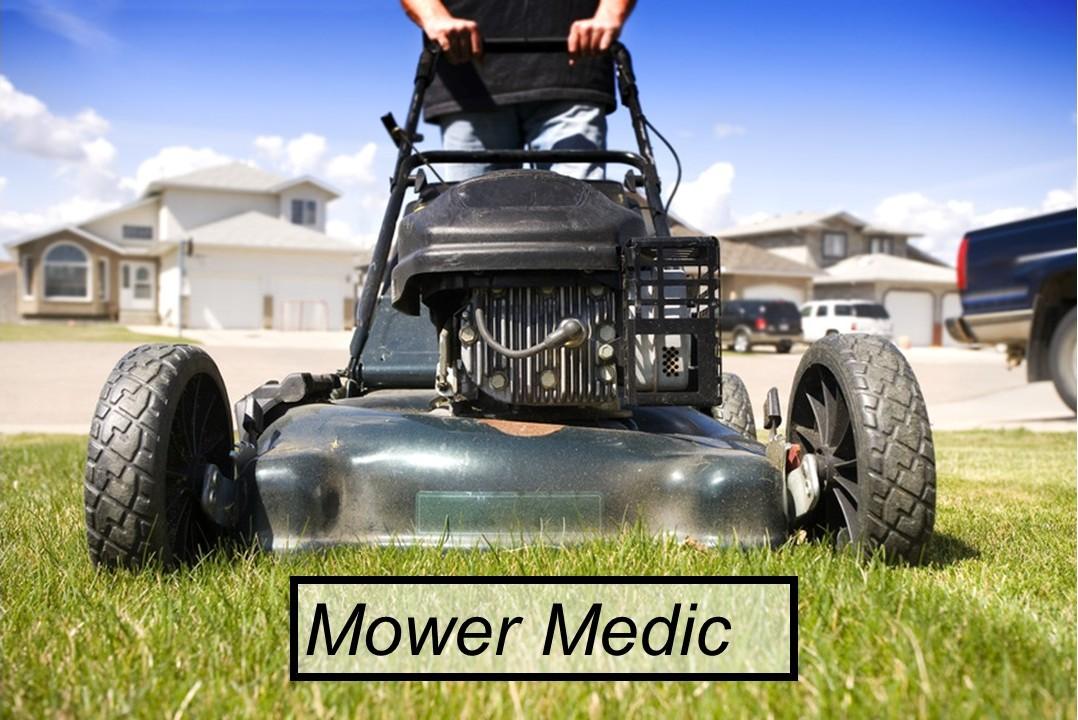 Hole Sponsor - Mower Medic - Logo
