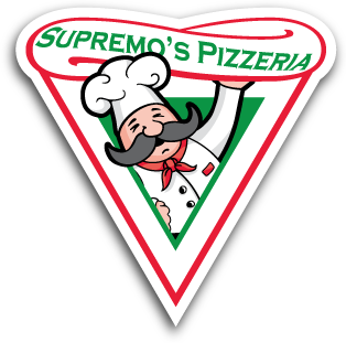 Tee Sponsors - Supremeo's Pizza - Logo