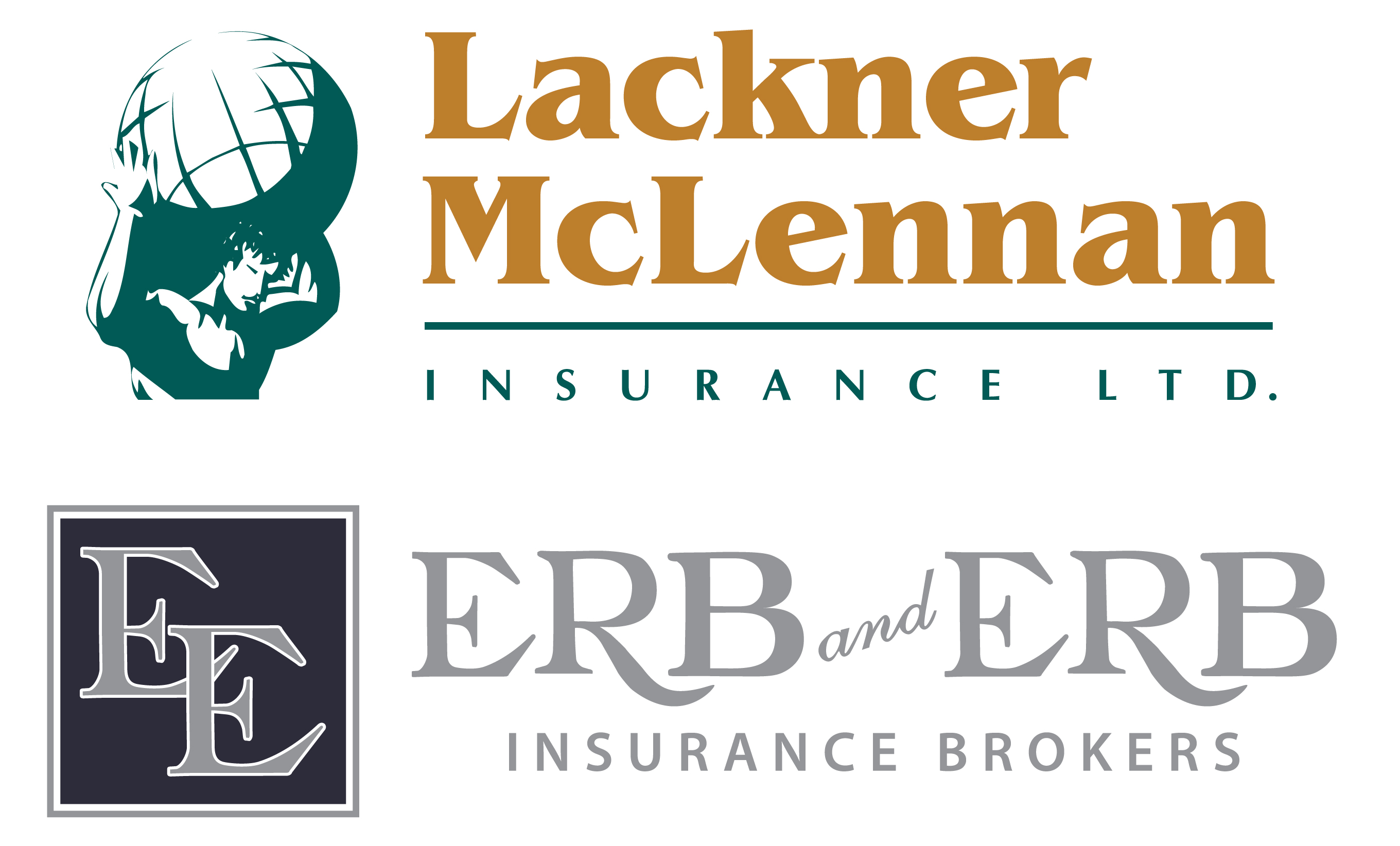 Hole Sponsor - Lackner McLennan & Erb and Erb Insurance Brokers - Logo
