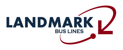 OFFICIAL TITLE SPONSOR - Landmark Bus Lines - Logo