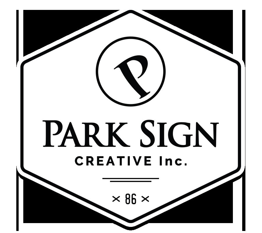 Park Sign Creative