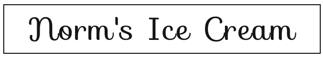 Norm's Ice Cream of Hartland