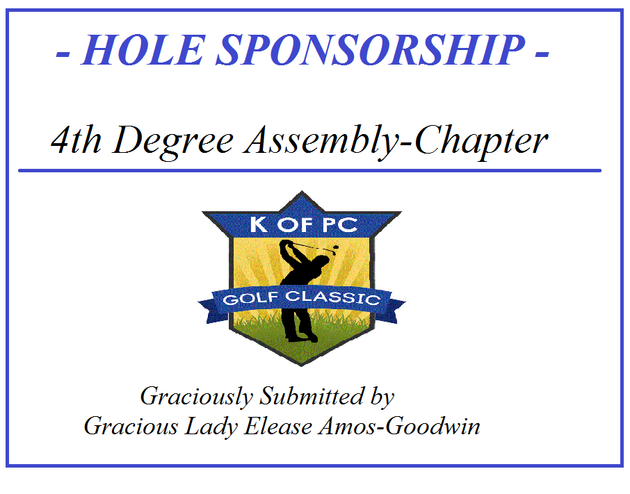 4th Degree Assembly -Chapter / Graciously Submitted by Gracious Lady Elease Amos-Goodwin