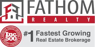 Longest Drive Sponsor - Fathom Realty - Logo