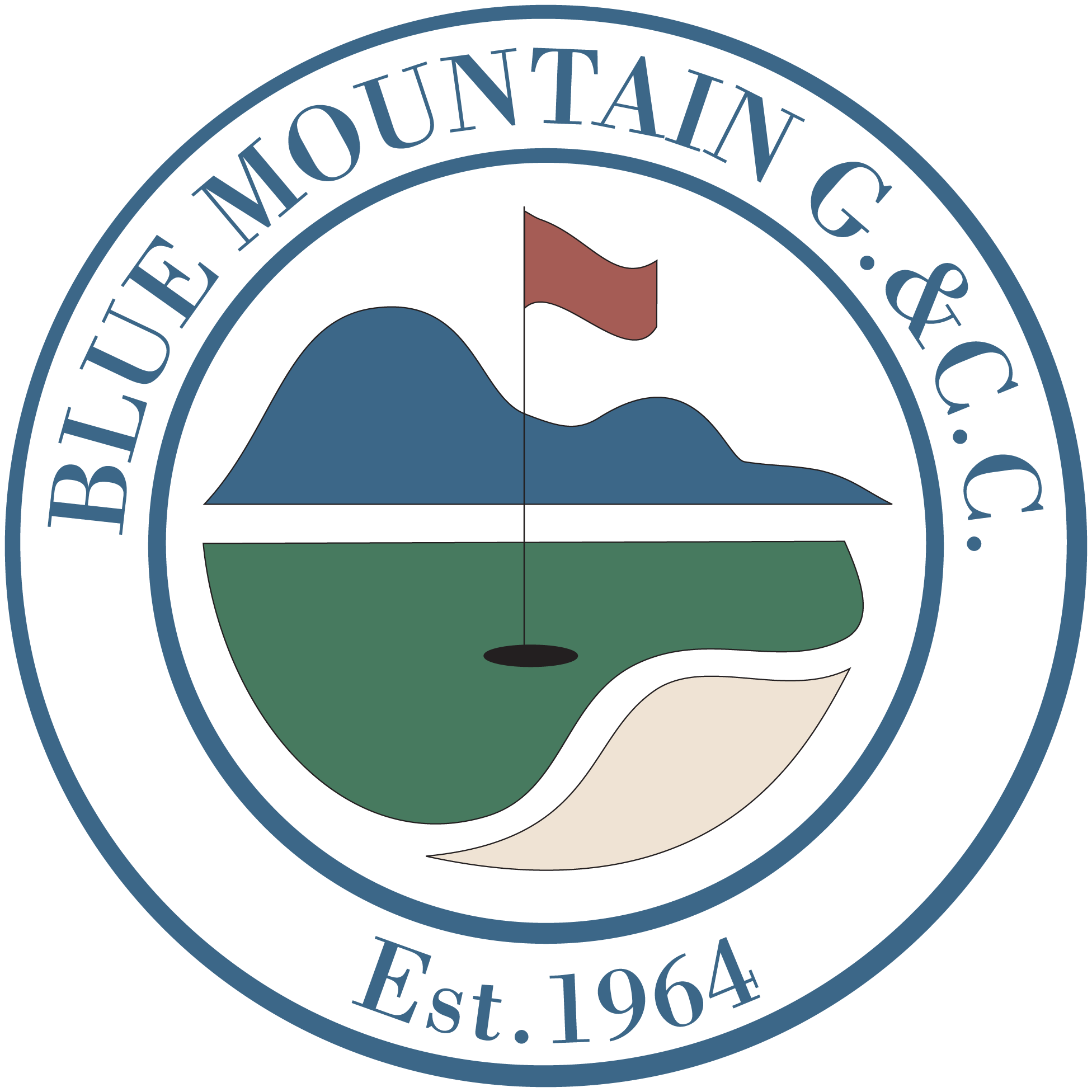 SPONSOR - Blue Mountain Golf & Country Club - Logo