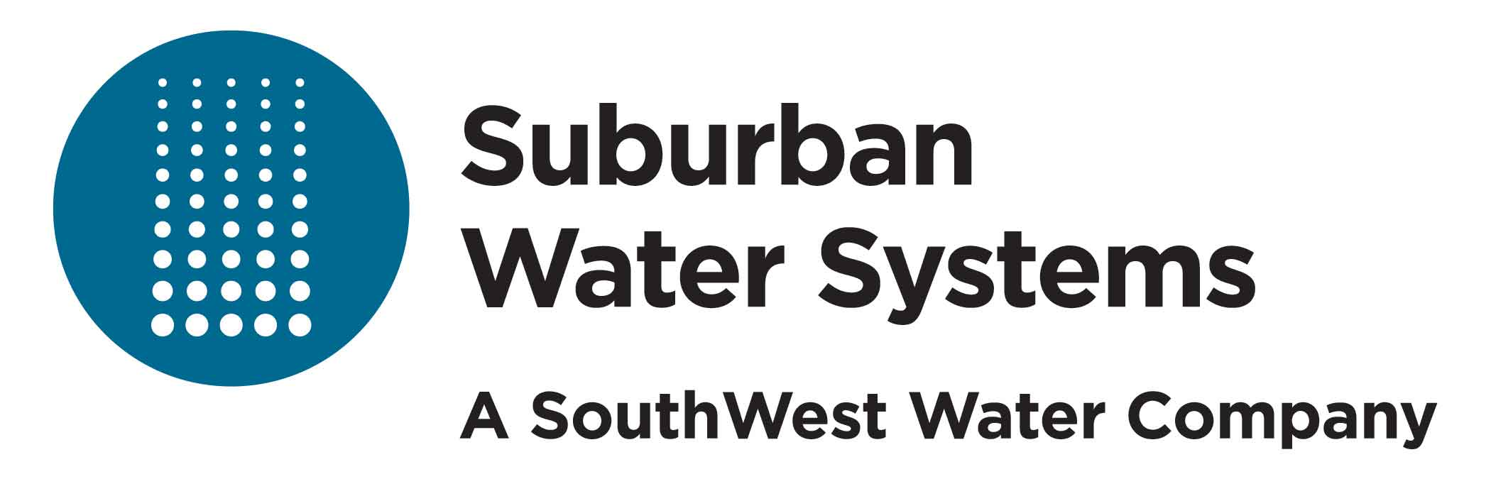Silver - Suburban Water Systems - Logo