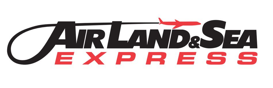 Beverage Cart Sponsor - Air Land & Sea Express - Logo