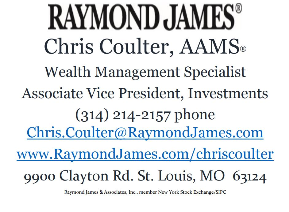 Driving Range / Putting Contest Sponsor - Raymond James (Chris Coulter) - Logo
