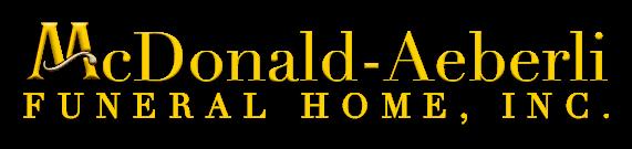 Tee Sponsors - McDonald-Aeberli Funeral Home - Logo