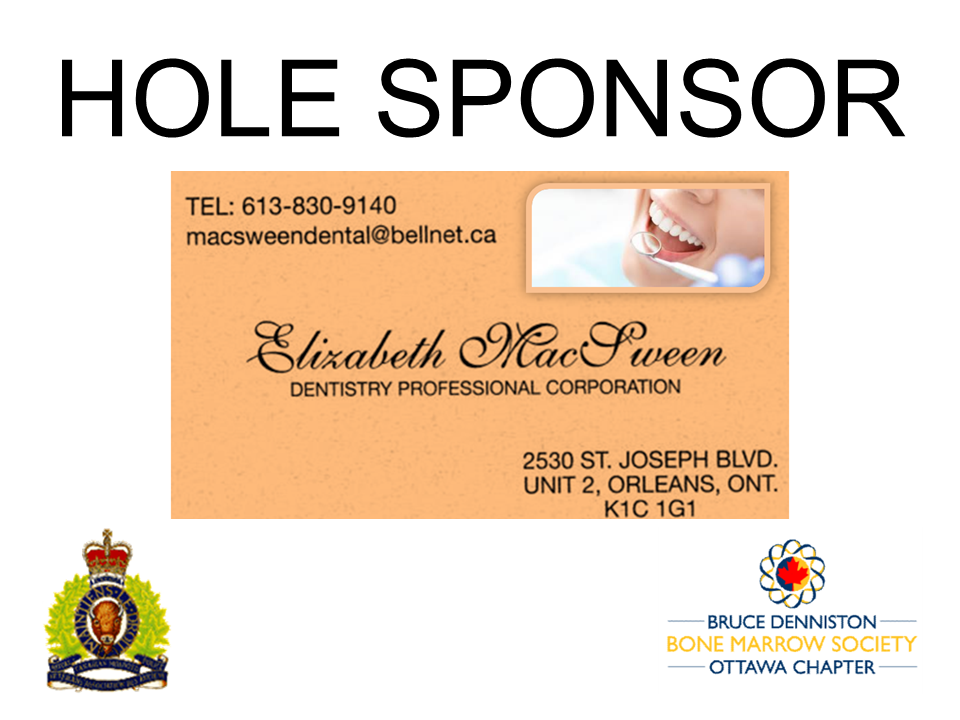 HOLE SPONSOR - Dr. McSween - Dentist - Logo
