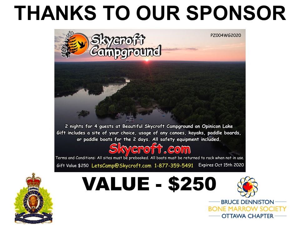 SILENT AUCTION SPONSOR - Skycroft Campground  - Logo