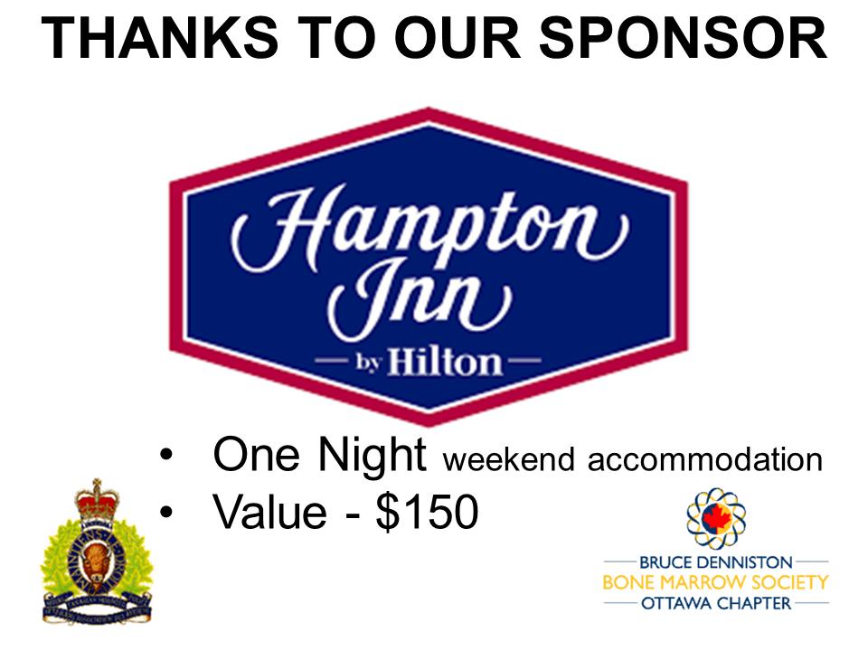 SILENT AUCTION SPONSOR - Hampton Inn - Logo