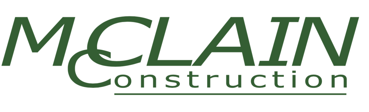 Courtesy Stand Sponsor - McClain Construction - Logo