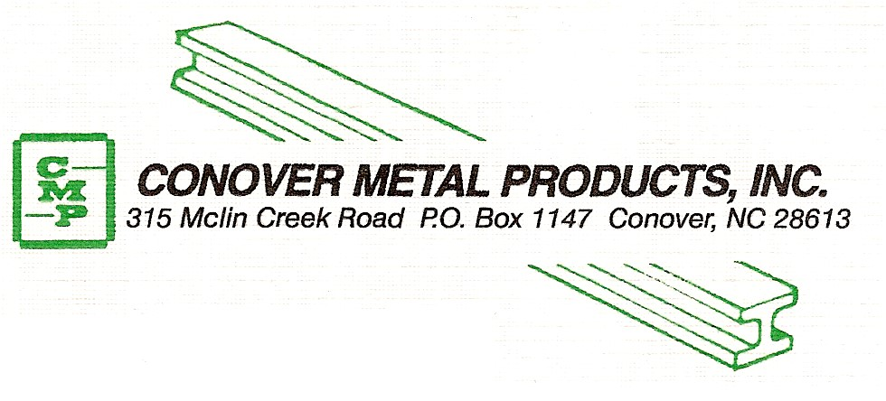 Hole Sponsor - Conover Metal Products - Logo