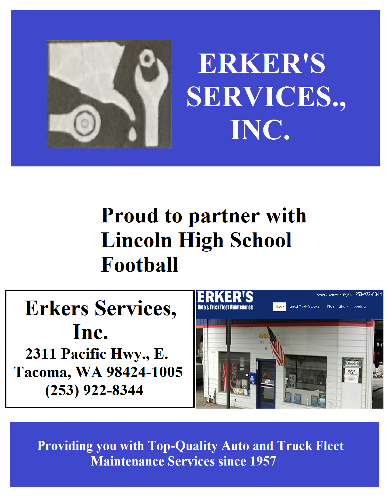 Erker's Services, Inc.