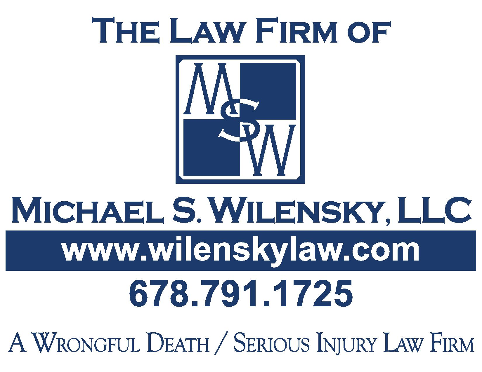 Bronze Sponsor - Wilensky Law - Logo