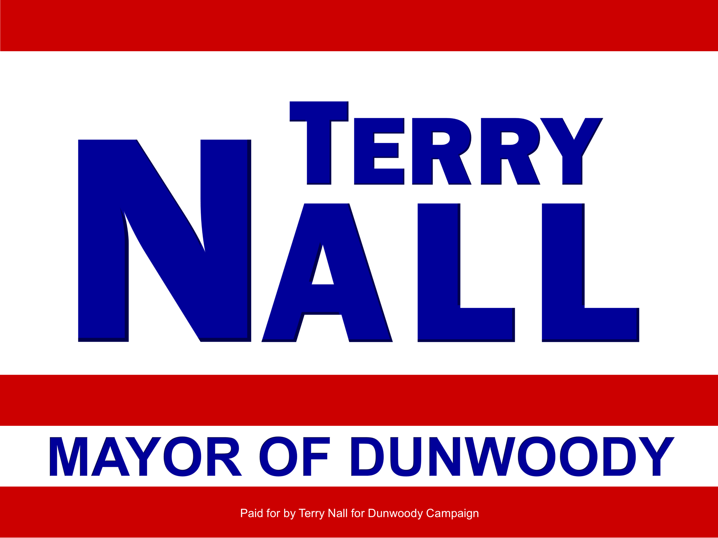 Terry Nall for Dunwoody Mayor