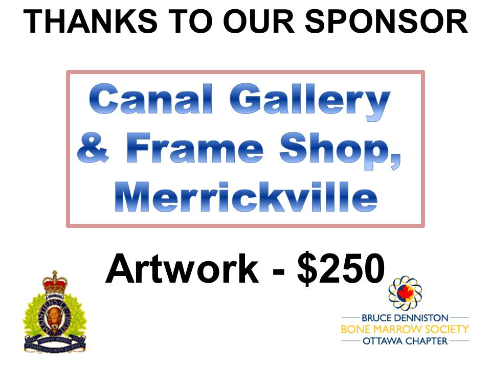 SILENT AUCTION SPONSOR - CANAL GALLERY MERRICKVILLE - Logo