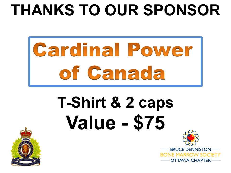 PRIZE DONATION ( $75 > $125) FOR CONTEST WINNER(S)  - CARDINAL POWER - Logo
