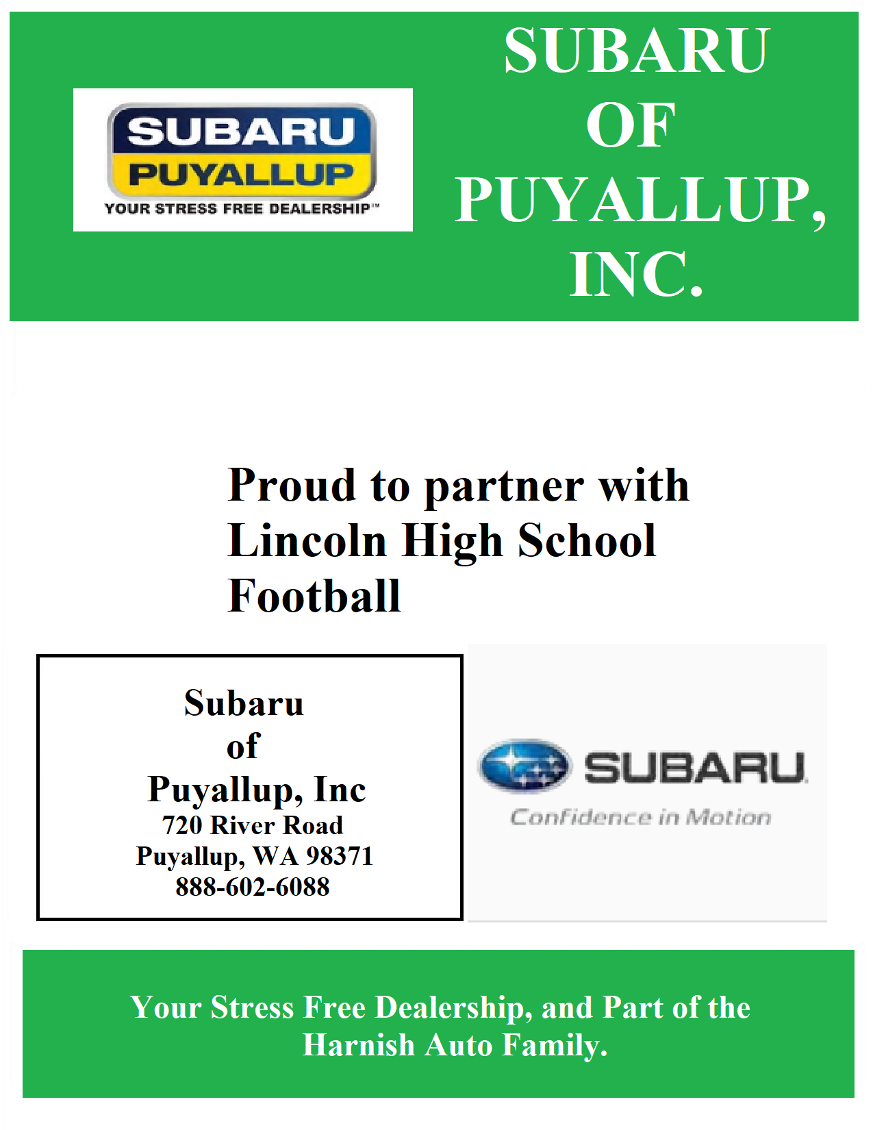 Subaru of Puyallup, Inc.