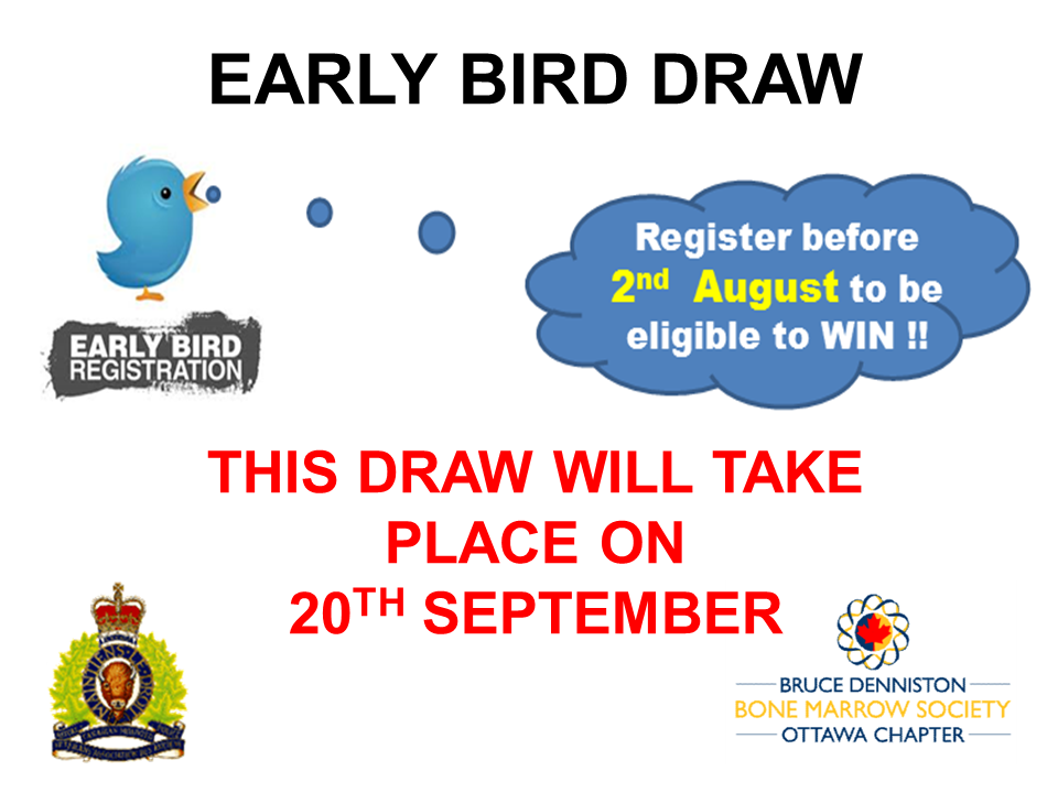 SPECIAL EVENT - EARLY BIRD DRAW - Logo